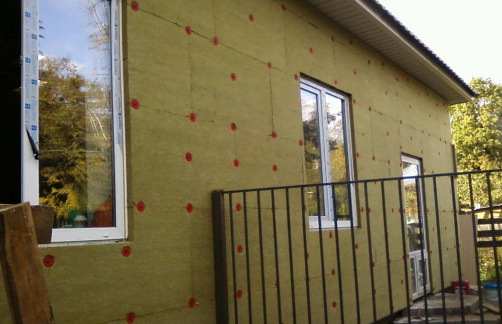 Утепление стен кирпичного дома снаружи