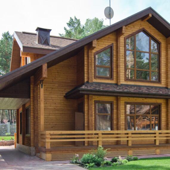 Как зависит цена деревянного дома от проекта?