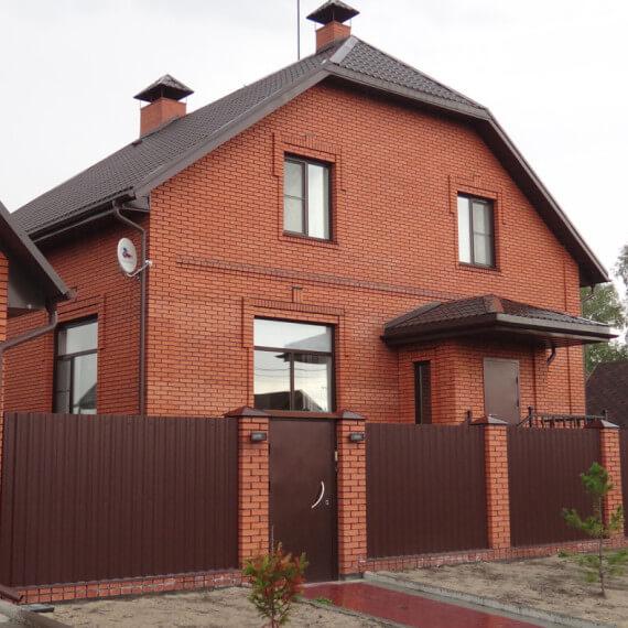 Строительство кирпичного дома в ценах