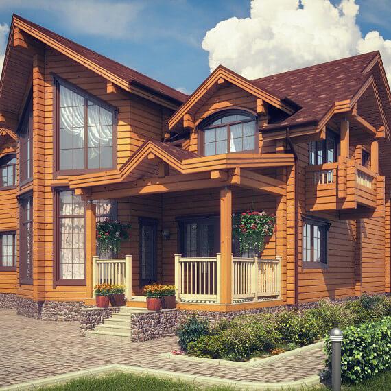Кому доверить деревянный дом под ключ?