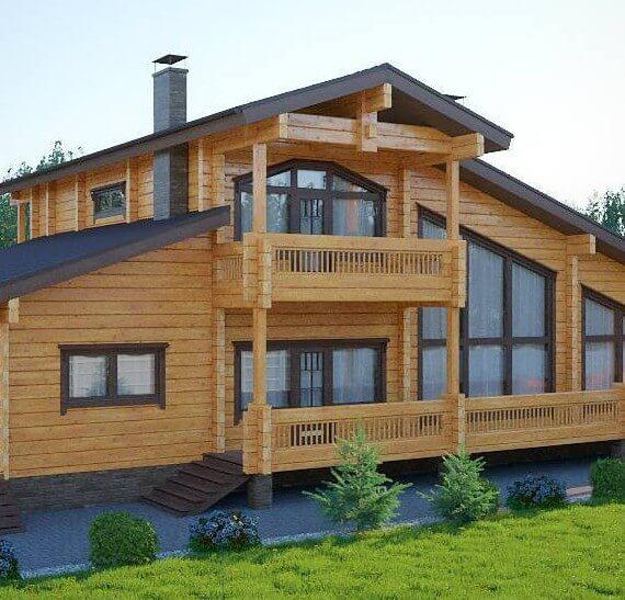 Дом из бруса под ключ за миллион: это реально?