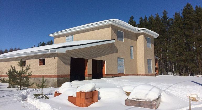 Строительство дома в Орловке