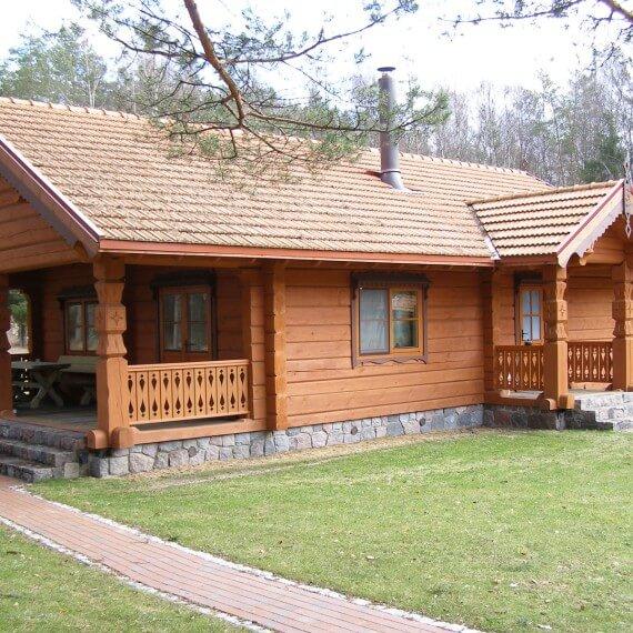 Строим дачный дом из дерева под ключ