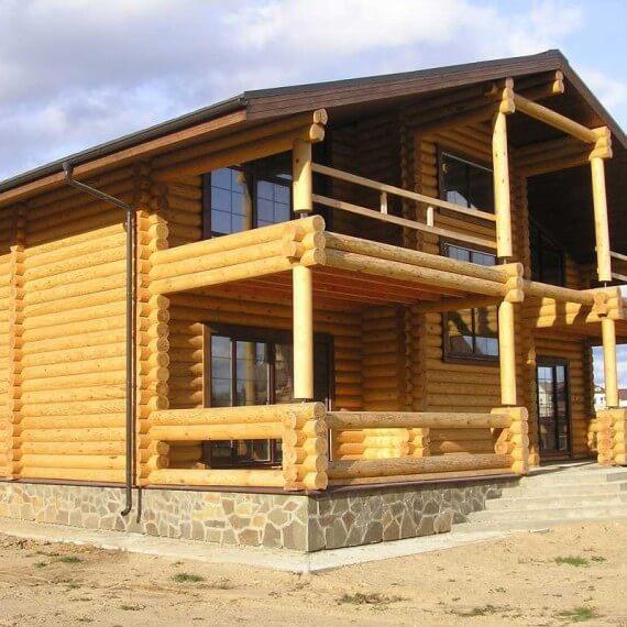 Дома из бревна под ключ: купить готовый или построить?