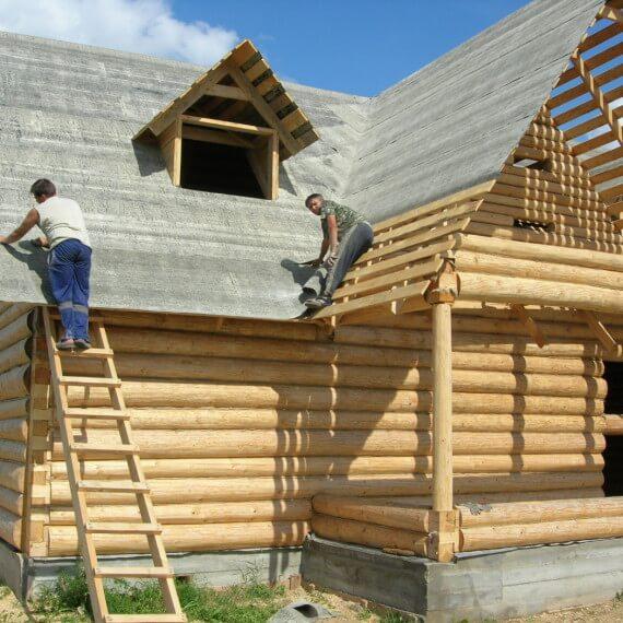 Что выбрать: строительство дома под ключ или под усадку?