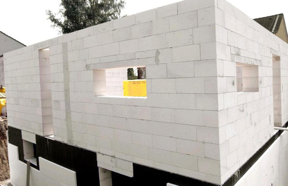 строительство домов из блоков под ключ